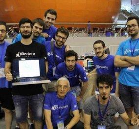 Το θαύμα της Ελλάδας: Δεύτερη θέση στον παγκόσμιο διαγωνισμό ρομποτικής για το Πανεπιστήμιο Θεσσαλονίκης - Κυρίως Φωτογραφία - Gallery - Video