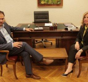 Γεννηματά & Θεοχαρόπουλος ανακοίνωσαν επίσημα τη «Δημοκρατική Συμπαράταξη» τους - Κυρίως Φωτογραφία - Gallery - Video