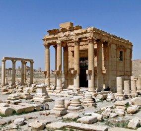Οι τζιχαντιστές ανατίναξαν τον αρχαίο ναό του Βάαλ - Δία στην Παλμύρα - Κυρίως Φωτογραφία - Gallery - Video