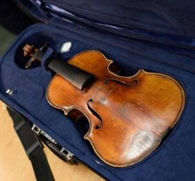 Story: Σπάνιο βιολί Στραντιβάριους αξίας 5 εκ. δολ. βρέθηκε 35 χρόνια μετά - ποιος το έκλεψε; - Κυρίως Φωτογραφία - Gallery - Video
