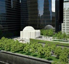 Ο ναός του Αγίου Νικολάου «φωτίζει» το «Σημείο Μηδέν» της Νέας Υόρκης (εικόνες, video)   - Κυρίως Φωτογραφία - Gallery - Video