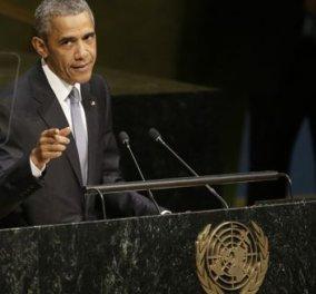 Ομπάμα: «Ναι» στη συνεργασία με Ρωσία - Ιράν για την αντιμετώπιση του ISIS - Κυρίως Φωτογραφία - Gallery - Video
