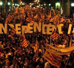Ενθουσιασμός στην Καταλονία: Πανηγυρίζουν οι αυτονομιστές με νίκη στις έδρες & ήττα στις ψήφους  - Κυρίως Φωτογραφία - Gallery - Video