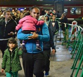 Η Γερμανία έκλεισε τα σύνορα για τους πρόσφυγες - Κίνδυνος να μας μείνουν εδώ  - Κυρίως Φωτογραφία - Gallery - Video