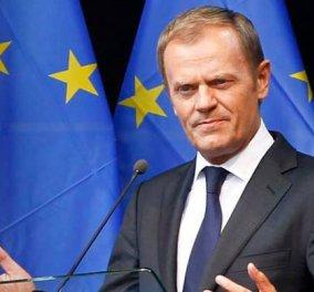 Τουσκ: Πρέπει να εστιάσουμε στην ενδυνάμωση της Ε.Ε. εντός του τρέχοντος πλαισίου - Κυρίως Φωτογραφία - Gallery - Video