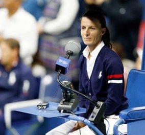 Top Woman η Εύα Ασδεράκη: Η Χαλκιδέα, πρώτη γυναίκα διαιτητής στον τελικό US Open   - Κυρίως Φωτογραφία - Gallery - Video