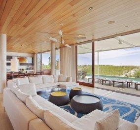 10 καταπληκτικές ιδέες για να ζεστάνετε με ξύλινες οροφές το σαλόνι σας - Κυρίως Φωτογραφία - Gallery - Video