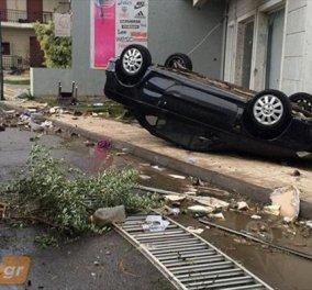Καλαμάτα: Δραματική έκκληση του δημάρχου να κηρυχθεί η πόλη θεομηνιόπληκτη μετά το χτύπημα ανεμοστρόβιλου (Βίντεο) - Κυρίως Φωτογραφία - Gallery - Video