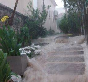 Πνίγεται η Κεφαλλονιά: Καταιγίδα - τέρας χτύπησε το νησί - Άνοιξαν τάφοι στη Κέρκυρα από τη νεροποντή - Κυρίως Φωτογραφία - Gallery - Video