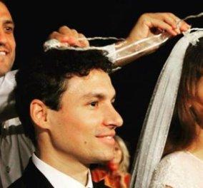 Βασίλης Κικίλιας: Έβαλε στέφανα με παπά και λαμπερή νύφη - Κυρίως Φωτογραφία - Gallery - Video
