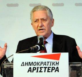 Φώτης Κουβέλης: Στηρίζω Τσίπρα την Κυριακή αλλά δημιουργώ νέο πολιτικό φορέα - Κυρίως Φωτογραφία - Gallery - Video
