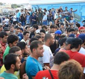 Βίντεο: Ευχαριστώ Μυτιλήνη τραγουδάνε οι Πρόσφυγες - Μια συγκινητική εκδήλωση για να πουν ευχαριστώ - Κυρίως Φωτογραφία - Gallery - Video