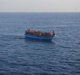 Nέα τραγωδία: Νεκρό βρέφος μεταναστών στο Αγαθονήσι - Κυρίως Φωτογραφία - Gallery - Video