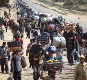 Συμφωνία για τη μετεγκατάσταση 120.000 προσφύγων - Οι λεπτομέρειες θα καθοριστούν στην επόμενη σύνοδο - Κυρίως Φωτογραφία - Gallery - Video