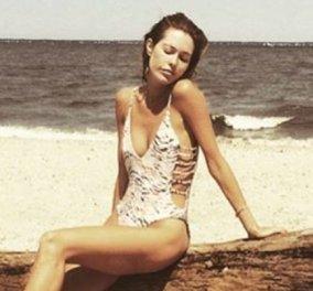 Σάλος στο διαδίκτυο για την ''σκελετωμένη''  Genevieve Barker: ''Κανενός το σώμα δεν είναι κακό'' απαντά - Κυρίως Φωτογραφία - Gallery - Video