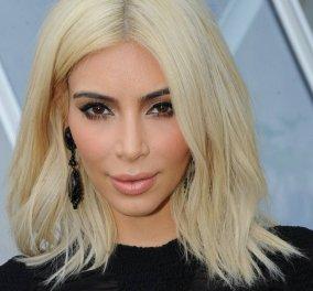 Κάνε το όπως η Κιμ: Άλλαξε τώρα τα μαλλιά σου από σκούρο σε ξανθό σε μια ημέρα χωρίς ίχνος φθοράς   - Κυρίως Φωτογραφία - Gallery - Video