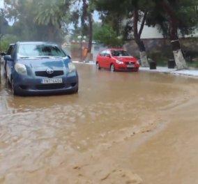 Kαταρρακτώδεις βροχές & Θεομηνία στη Ρόδο - Έκλεισε σαν «βομβαρδισμένο» το αεροδρόμιο - Κυρίως Φωτογραφία - Gallery - Video