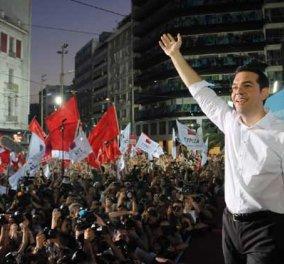 Φινάλε προεκλογικής περιόδου – Που μιλούν οι αρχηγοί: Τσιπρας στο Σύνταγμα  - Κυρίως Φωτογραφία - Gallery - Video