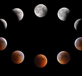 """Πρώτη ολική έκλειψη υπερπανσελήνου από το 1982: 27 Σεπτεμβρίου """"μάτια ψηλά """"& το φεγγάρι πάνω θεέ μου, ασημένιο τάληρο  - Κυρίως Φωτογραφία - Gallery - Video"""