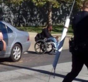 Βίντεο: Αμερικανοί αστυνομικοί σκοτώνουν 28χρονο σε αναπηρικό καροτσάκι (Σκληρές εικόνες) - Κυρίως Φωτογραφία - Gallery - Video