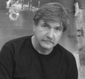 Ο Γιάννης Αδαμάκος και το «φωτεινό νέφος» στη νέα θαυμάσια γκαλερί Ευριπίδη του Κολωνακίου  - Κυρίως Φωτογραφία - Gallery - Video