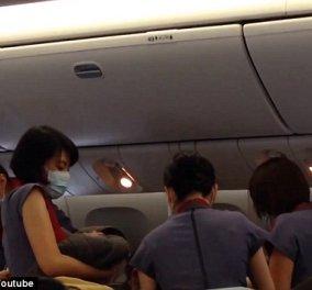 Γέννησε κοριτσάκι μέσα στο αεροπλάνο σε πτήση από το Μπαλί προς το Λος Άντζελες  - Κυρίως Φωτογραφία - Gallery - Video