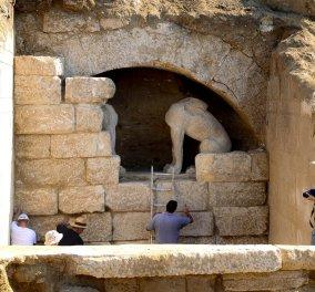 Νέες αποκαλύψεις για την Αμφίπολη: Η ''χρυσή'' κηδεία του Ηφαιστίωνα, ο Μέγας Αλέξανδρος & οι έρευνες για το ταφικό μνημείο - Κυρίως Φωτογραφία - Gallery - Video
