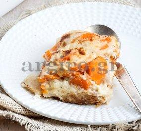Ογκρατέν με λαχανικά και αλμυρό μπισκότο από την Αργυρώ - Μια απίθανη συνταγή που θα λατρέψετε - Κυρίως Φωτογραφία - Gallery - Video