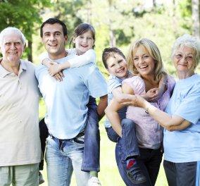 Η οικογένεια & όχι τα χρήματα φέρνει την ευτυχία αλλά και περισσότερα χρόνια ζωής - Κυρίως Φωτογραφία - Gallery - Video