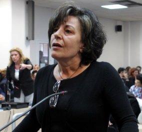 Δίκη Χρυσής Αυγής: Πέταξε μπουκάλι στον Ρουπακιά η Μάγδα Φύσσα - ''Αυτό από εμένα για να με θυμάσαι'' - Κυρίως Φωτογραφία - Gallery - Video