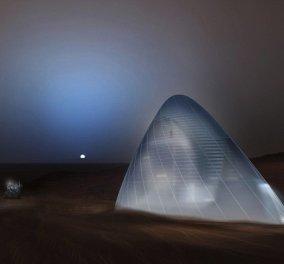 Αυτό είναι το σπίτι που θα μείνουν οι πρώτες αποστολές στον Άρη: Μοιάζει με ιγκλού & είναι βγαλμένο από ταινία επιστημονικής φαντασίας - Κυρίως Φωτογραφία - Gallery - Video