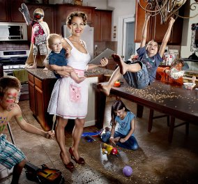 Mύθος της «τέλειας» μαμάς: Η παγίδα που πέφτουν αρκετές από εμάς & το μεγάλο κόστος της - Κυρίως Φωτογραφία - Gallery - Video
