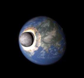Απίθανο βίντεο: Δείτε τι θα γινόταν αν το φεγγάρι συγκρουόταν με την Γη - Κυρίως Φωτογραφία - Gallery - Video