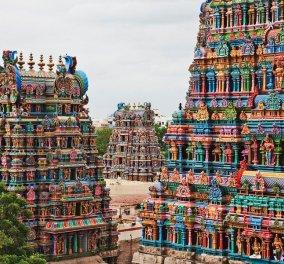 Ινδία: Ο πιο επιβλητικός και πολύχρωμος ναός σε όλο τον κόσμο - Διαθέτει 12 πύργους  - Κυρίως Φωτογραφία - Gallery - Video