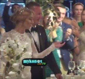 Μύκονος: Ο χλιδάτος γάμος με σούσι, σαμπάνια και ούζο & η καλλονή με το βιολί - Δείτε το βίντεο! - Κυρίως Φωτογραφία - Gallery - Video