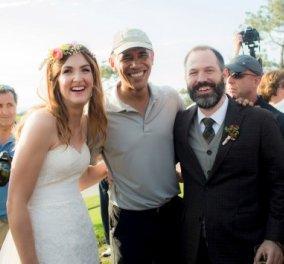 Ο Ομπάμα πήγε ακάλεστος σε γάμο & η νύφη έβαλε τα κλάματα (φώτο & βίντεο) – Ο γαμπρός; - Κυρίως Φωτογραφία - Gallery - Video