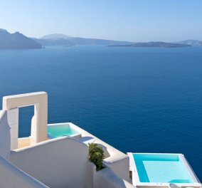 Good News: Tο Canaves Oia Santorini καλύτερο resort στην Ευρώπη για το 2015 - Κυρίως Φωτογραφία - Gallery - Video