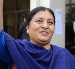 Το Νεπάλ εξέλεξε την πρώτη γυναίκα πρόεδρο της ιστορίας του: 54 ετών η Μπίντια Ντέβι  - Κυρίως Φωτογραφία - Gallery - Video