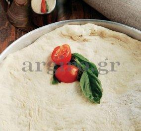Η Αργυρώ μας μαθαίνει να φτιάχνουμε πίτσα - Τι καλύτερο για την Κυριακή μας; - Κυρίως Φωτογραφία - Gallery - Video