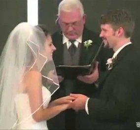 Χαμογελάστε ανεύθυνα: Επικές τούμπες νύφης & γαμπρού, λιποθυμίες, απρόοπτα την ημέρα του γάμου, ξεκαρδιστικό!  - Κυρίως Φωτογραφία - Gallery - Video