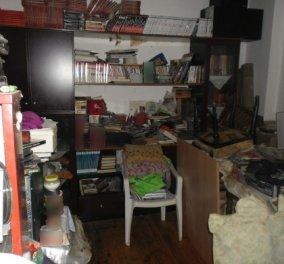 """5 τόνους σκουπίδια είχε στοιβάξει στο σπίτι του ένας 60χρονος στη Θεσσαλονίκη - Η βρωμιά & δυσωδία τον """"κάρφωσαν""""  - Κυρίως Φωτογραφία - Gallery - Video"""