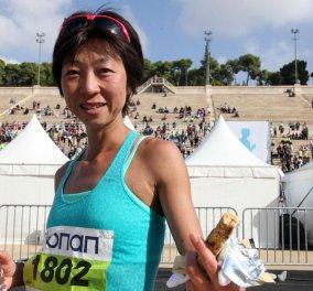 Τop Woman η 42χρονη Χαγιακάρι Μινόρι νικήτρια στον 33ο Αυθεντικό Μαραθώνιο Αθήνας! - Κυρίως Φωτογραφία - Gallery - Video