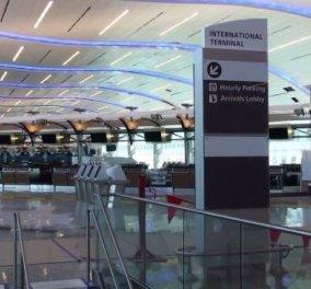 Πανικός στην Κοπεγχάγη - Εκκενώθηκε τερματικός σταθμός στο αεροδρόμιο Κάστρουπ  - Κυρίως Φωτογραφία - Gallery - Video