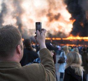 Με ένα smartphone στο χέρι όλοι γίνονται «δημοσιογράφοι»: Η Δημοσιογραφία των πολιτών μόλις ξεκίνησε - Κυρίως Φωτογραφία - Gallery - Video