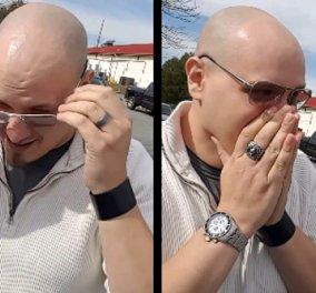 Συγκινητικό Βίντεο: Άνδρας βλέπει για πρώτη φορά χρώματα μετά από 24 χρόνια  - Κυρίως Φωτογραφία - Gallery - Video