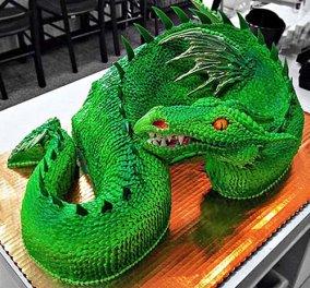 Ιδού 15 από τις πιο περίεργες και εντυπωσιακές τούρτες – Πάρτε ιδέες για φτιάξτε τις!  - Κυρίως Φωτογραφία - Gallery - Video