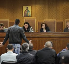 Δίκη Χρυσής Αυγής: Η συγκλονιστική περιγραφή αστυνομικού για την επίθεση στον Π. Φύσσα  - Κυρίως Φωτογραφία - Gallery - Video
