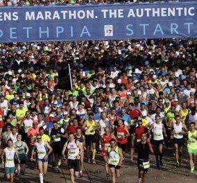 43.000 δρομείς τρέχουν σήμερα στον αυθεντικό Μαραθώνιο της Αθήνας – 6000 από 100 ξένες χώρες - Διαδρομή στα 42, στα 10 & στα 5χλμ - Κυρίως Φωτογραφία - Gallery - Video