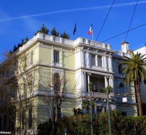 Αυξημένα μέτρα και στην Αθήνα με αφορμή το τρομοκρατικό χτύπημα του Παρισιού – Από πρεσβείες μέχρι επιχειρήσεις - Κυρίως Φωτογραφία - Gallery - Video