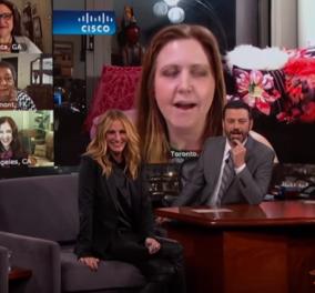 Βίντεο: Όταν η Julia Roberts είδε άλλες 9 γυναίκες με το όνομα της - Η αντίδρασή της ήταν φοβερή! - Κυρίως Φωτογραφία - Gallery - Video